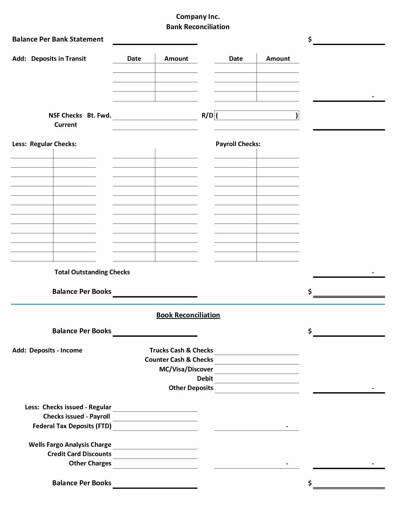 Blank Bank Statement Template Best Of 28 Of Checking Account Reconciliation Template