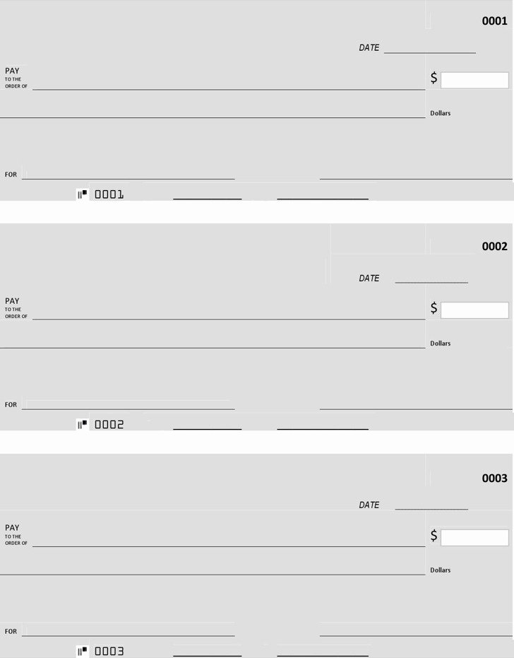 Blank Check Template Pdf Awesome 27 Blank Check Template Free Download
