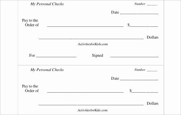 Blank Check Template Pdf Awesome Popular Blank Cheque Templates