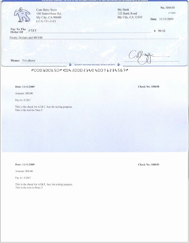 Blank Check Template Pdf Beautiful 19 Pay Stub Templates Free Download