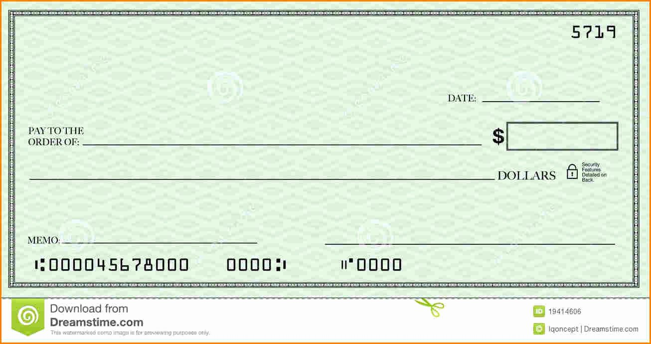 Blank Check Template Pdf Beautiful Blank Check Template