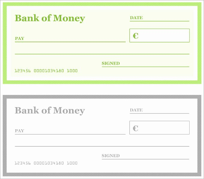 Blank Check Template Pdf Beautiful Blank Checks Pdf