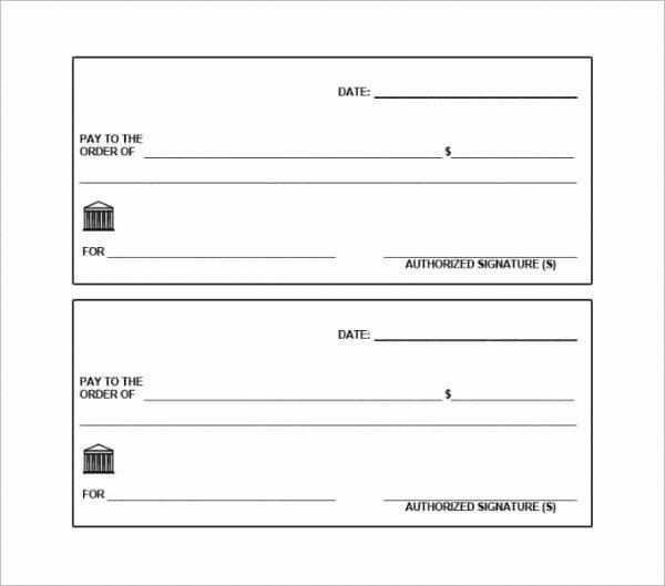 Blank Check Template Pdf Elegant Printable Giant Blank Check Flowersheet