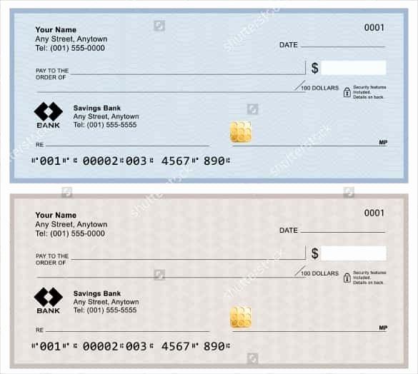 Blank Check Template Pdf Fresh Blank Check Template Free