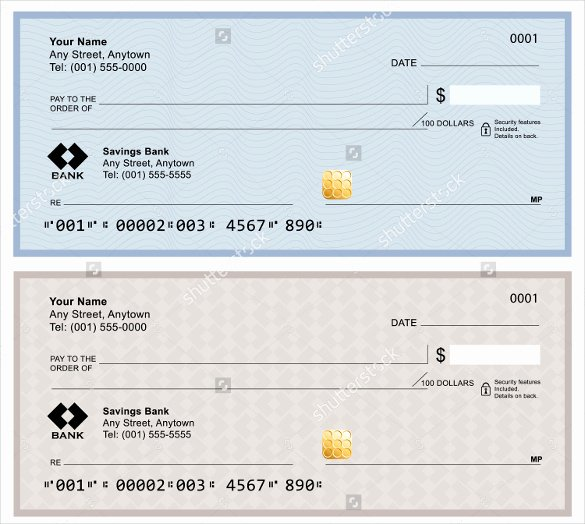 Blank Check Template Pdf Inspirational Blank Check Template – 30 Free Word Psd Pdf & Vector