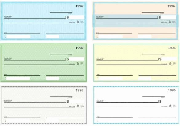Blank Check Template Pdf Lovely 24 Blank Check Template Doc Psd Pdf & Vector formats