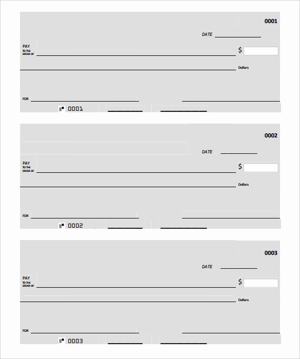 Blank Check Template Pdf Luxury Blank Check Template – 30 Free Word Psd Pdf & Vector