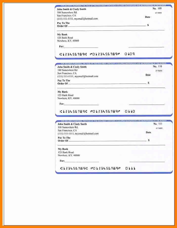 6 printable payroll checks