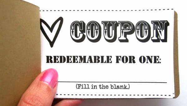 Blank Coupon Template Free Awesome 27 Blank Coupon Templates Psd Word Eps Ai Indesign