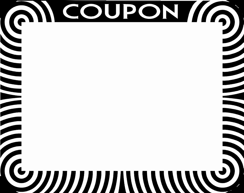 Blank Coupon Template Free Beautiful Blank Coupon Clipart Clipart Suggest