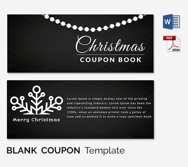 Blank Coupon Template Free Best Of Blank Coupon Templates – 26 Free Psd Word Eps Jpeg