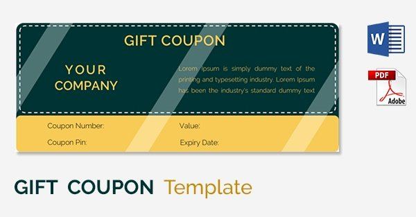 Blank Coupon Template Free Elegant Blank Coupon Templates – 26 Free Psd Word Eps Jpeg
