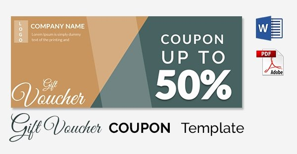 Blank Coupon Template Free Fresh Blank Coupon Templates – 26 Free Psd Word Eps Jpeg