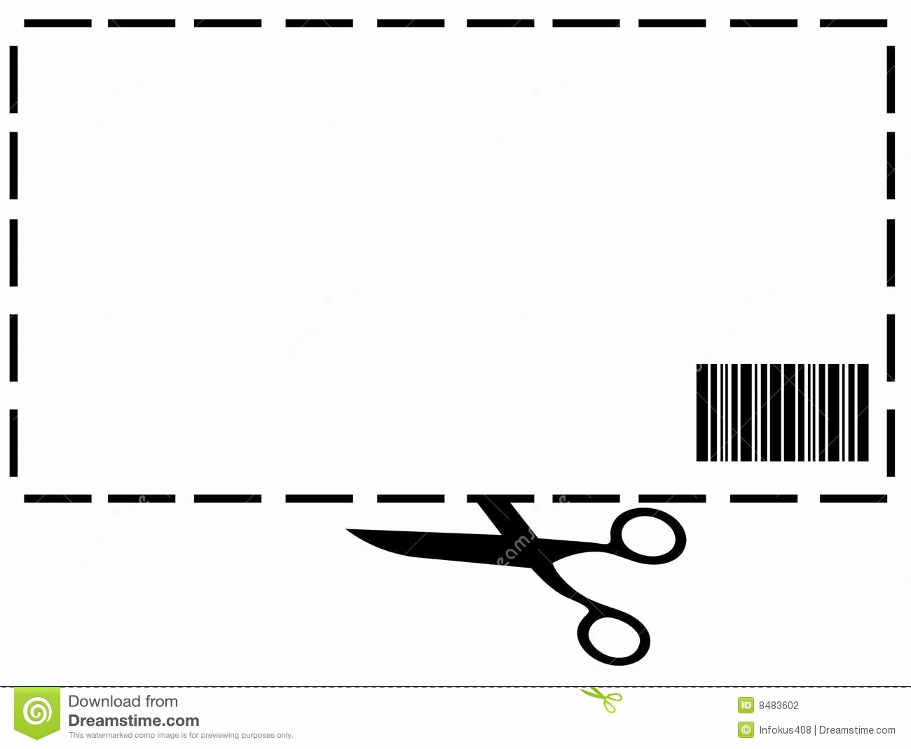 Blank Coupon Template Free Lovely Blank Coupon Clipart Clipart Suggest