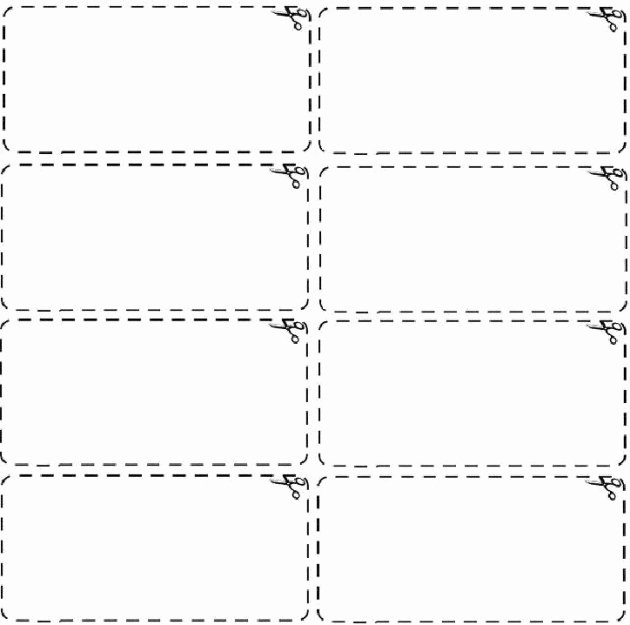 blank black and white coupon template
