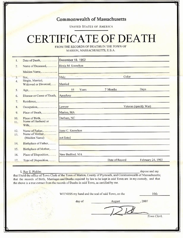 Blank Death Certificate Template Inspirational Blank Death Certificates