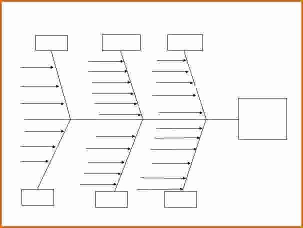 Blank Fishbone Diagram Template Elegant 13 Fishbone Diagram Template Word