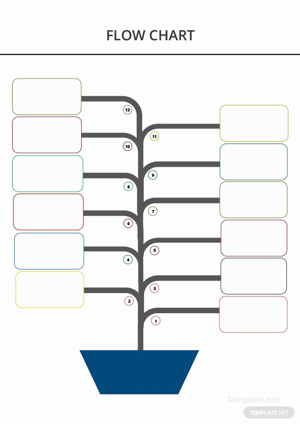 Blank Flow Chart Template Lovely Blank Flow Chart Template In Microsoft Word