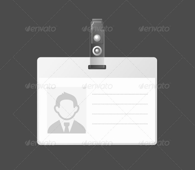 Blank Id Card Template Awesome 30 Blank Id Card Templates Free Word Psd Eps formats