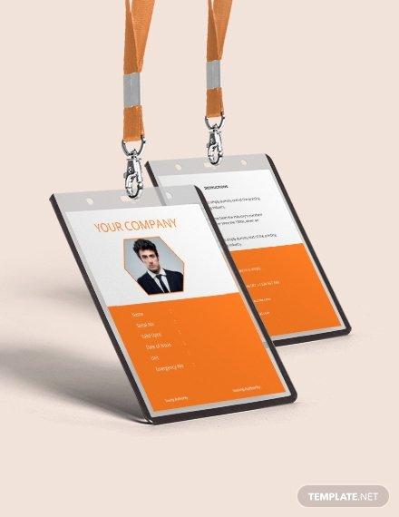 Blank Id Card Template Beautiful 35 Free Id Card Templates