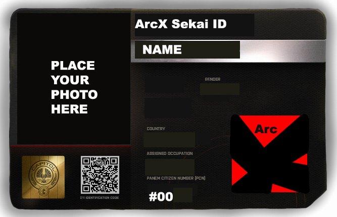 Blank Id Card Template Fresh Arcx Blank Id Card Template by Hush Janiz15 On Deviantart