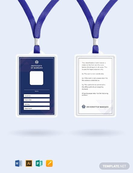 Blank Id Card Template New 643 Free Card Templates [download Ready Made Samples