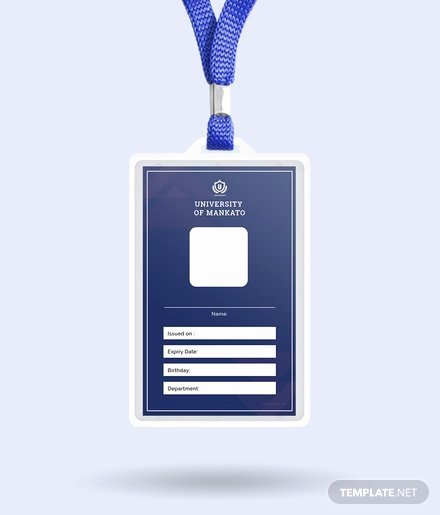 Blank Id Card Template New Free Multi Place Wedding Name Card Template In Adobe