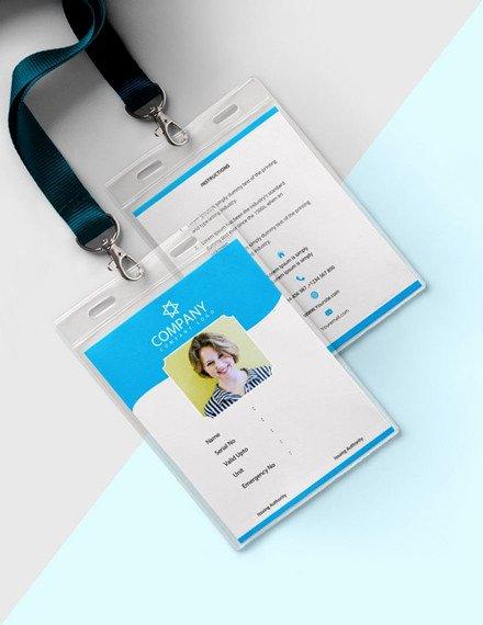 Blank Id Card Template Unique 31 Blank Id Card Templates Psd Ai Vector Eps Doc