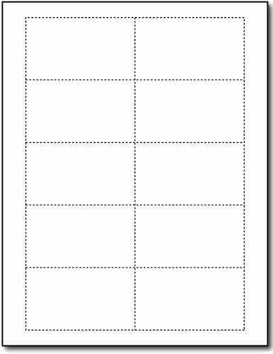 Blank Index Card Template Fresh 80lb White Blank Business Cards 100 Sheets 1000