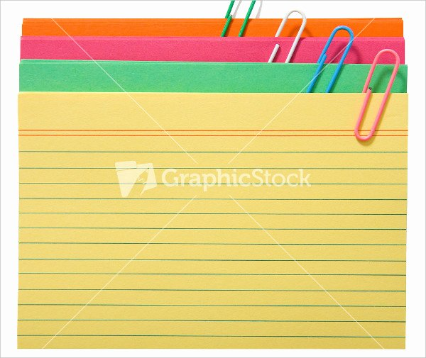 Blank Index Card Template Inspirational 17 Index Card Templates Free Psd Vector Ai Eps format