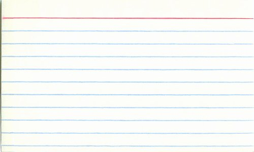 Blank Index Card Template New Going Back to My Index Card Method for Daily Goals