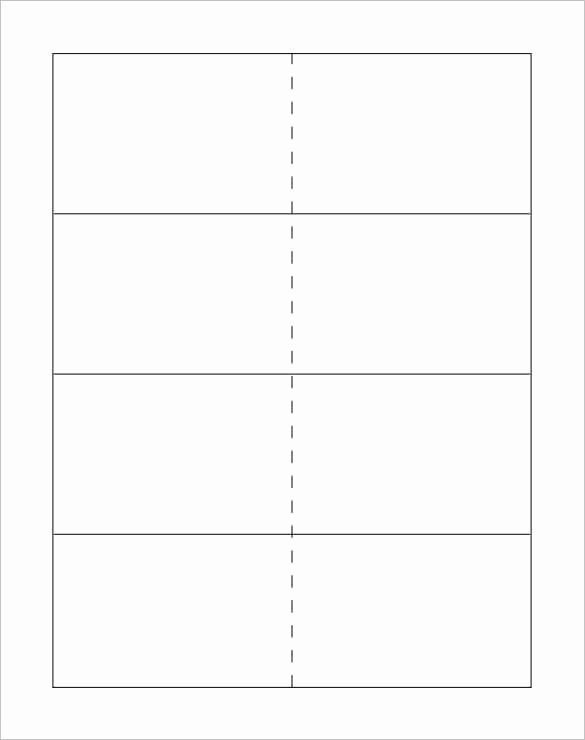 Blank Index Card Template Unique 10 Flash Card Templates Doc Pdf Psd Eps
