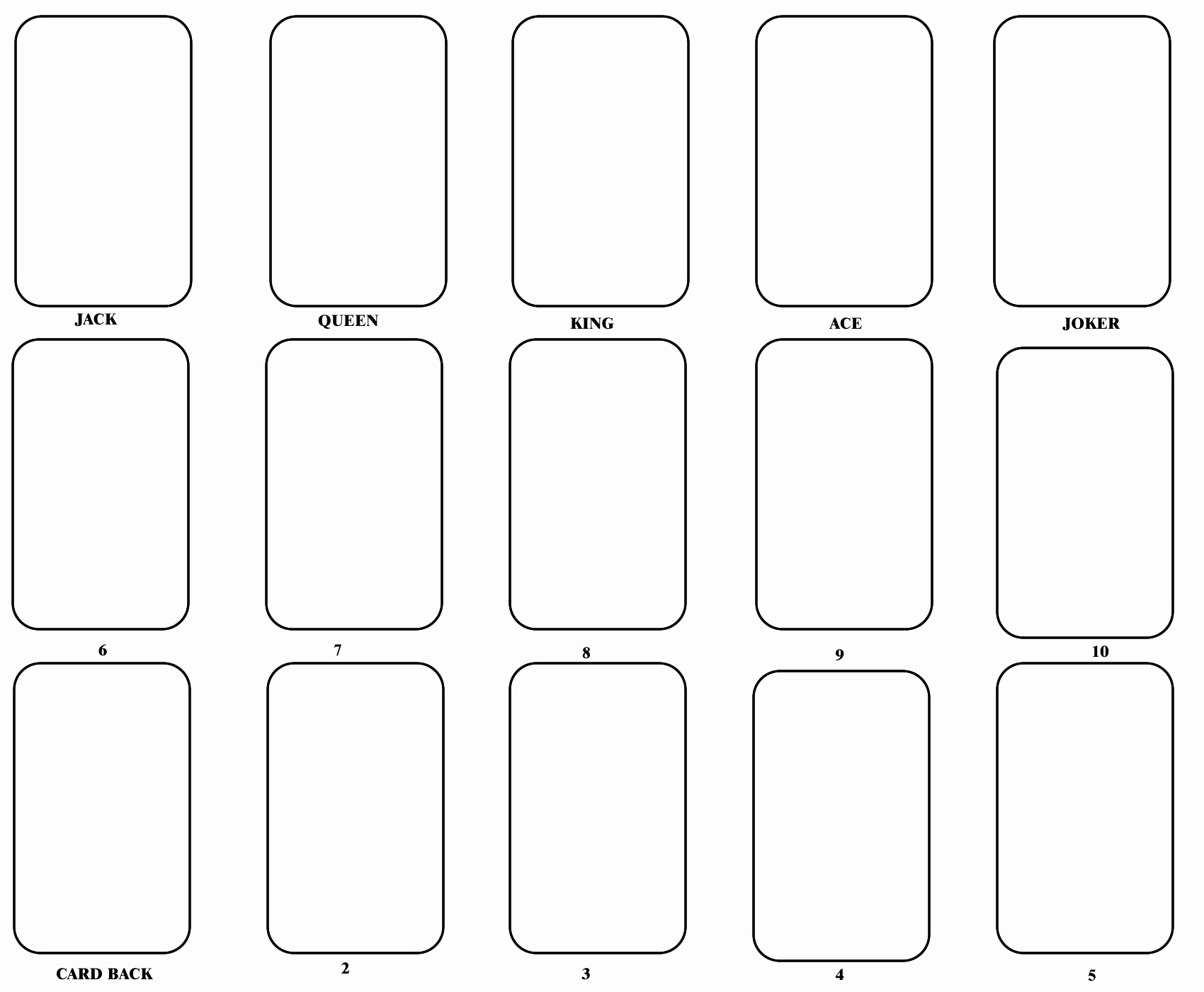 Blank Index Card Template Unique Blank Playing Card Template E Day
