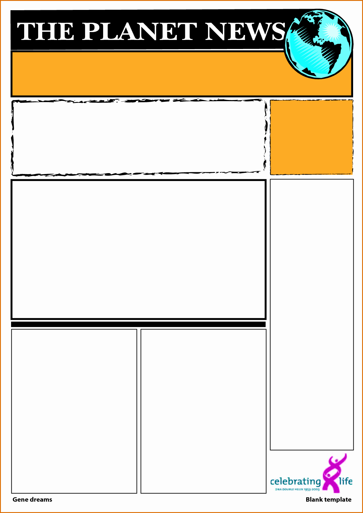 Blank Newspaper Template Microsoft Word Inspirational 5 Blank Newspaper Template