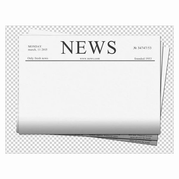 Blank Newspaper Template Microsoft Word Inspirational Blank Newspaper Template 20 Free Word Pdf Indesign Eps