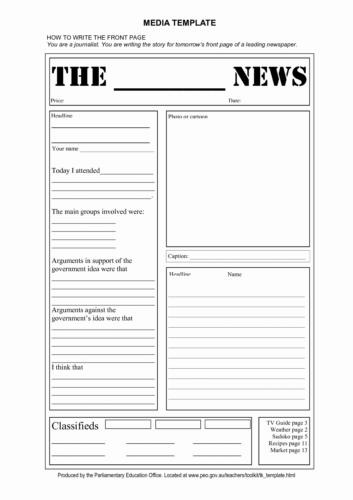 Blank Newspaper Template Microsoft Word Luxury Blank Newspaper Template
