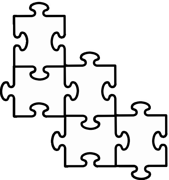Blank Puzzle Pieces Template Best Of 5 Piece Puzzle Template Clipart Best