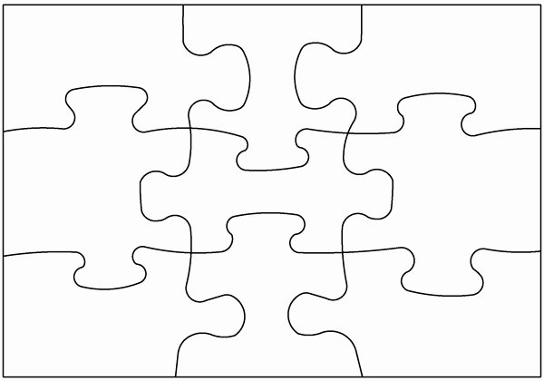 Blank Puzzle Pieces Template Elegant Blank Puzzle Pieces Free Download Clip Art