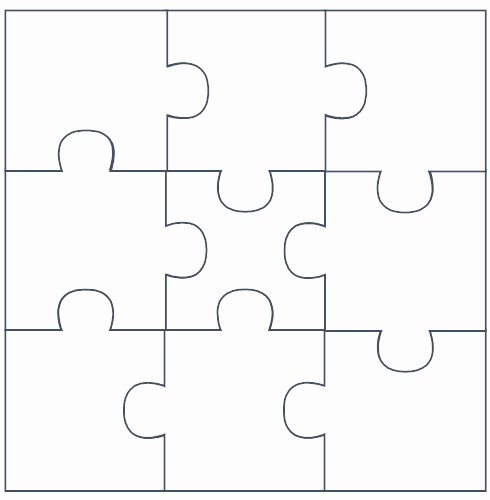 Blank Puzzle Pieces Template Inspirational Free Puzzle Pieces Template Download Free Clip Art Free