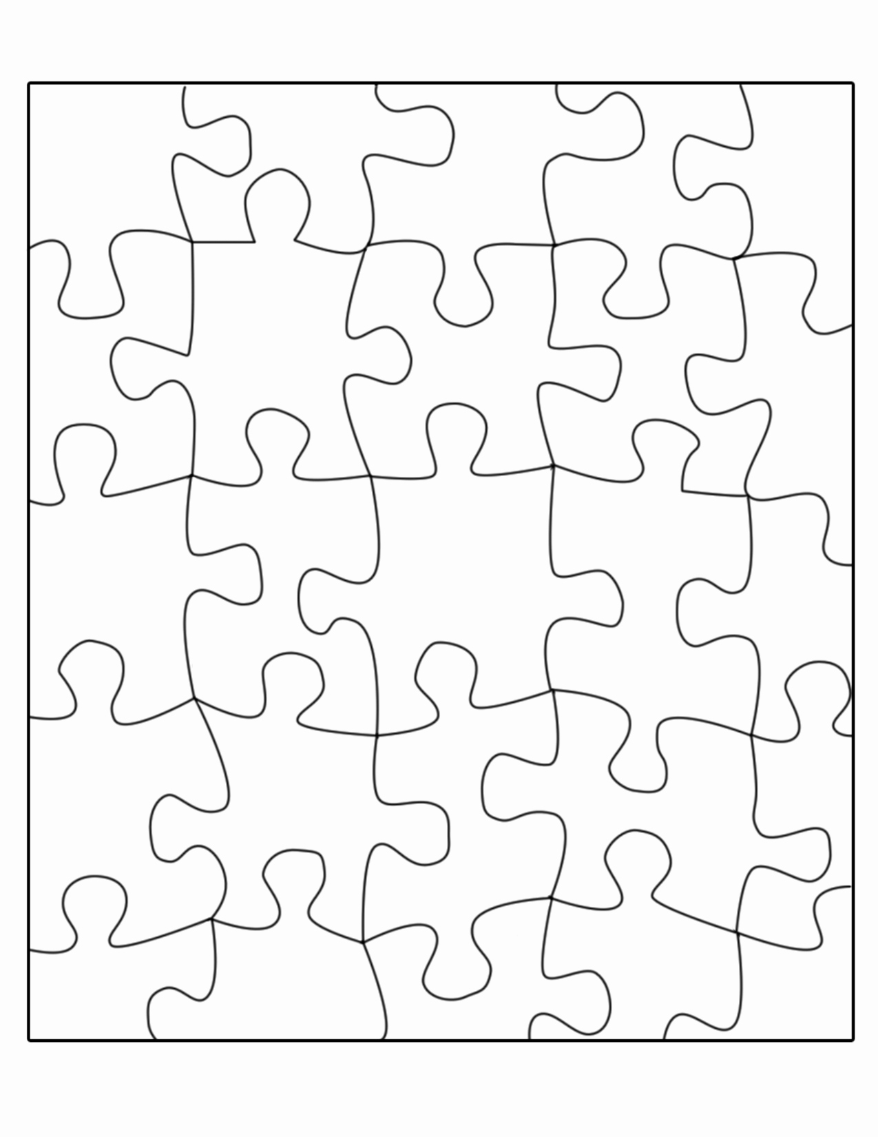 Blank Puzzle Pieces Template Lovely Related Piece Blank Jigsaw Puzzle Template Quote