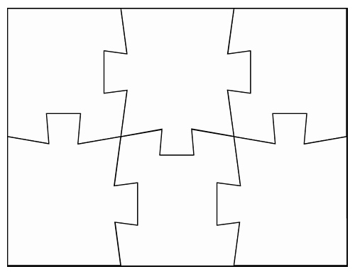 Blank Puzzle Pieces Template Luxury Blank Jigsaw Puzzle Templates