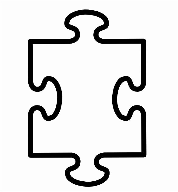 Blank Puzzle Pieces Template Unique Pin by Vicki Johnson On First Grade