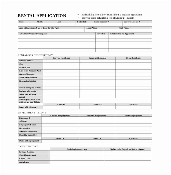 Blank Scholarship Application Template New Application Templates – 20 Free Word Excel Pdf