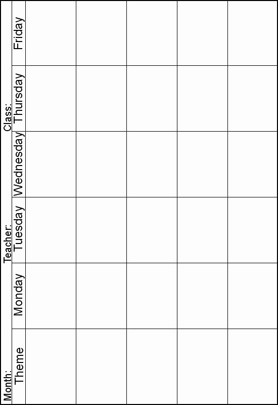 Blank Weekly Lesson Plan Template Fresh 25 Best Ideas About Blank Lesson Plan Template On