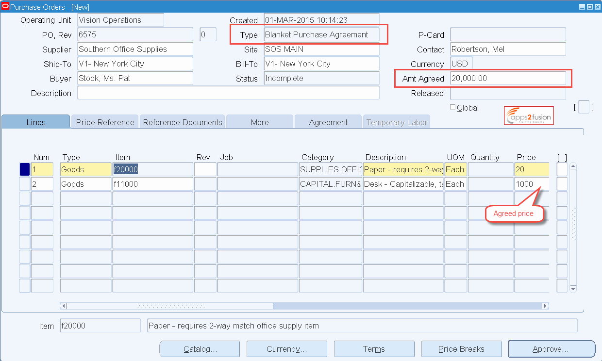 Blanket Purchase Agreement Template Awesome Blanket Purchase Agreement and Blanket Release In oracle R12