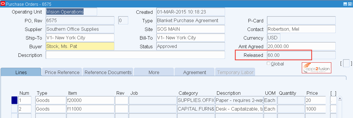 Blanket Purchase Agreement Template Lovely Blanket Purchase Agreement and Blanket Release In oracle R12