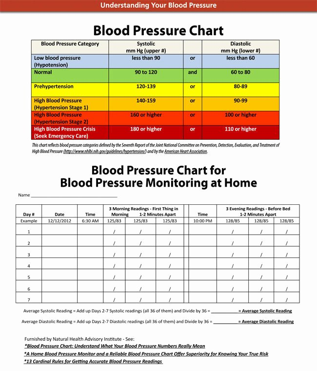 Blood Pressure Charting Template Lovely Blood Pressure Chart and Log Templates Ages 2 to 20