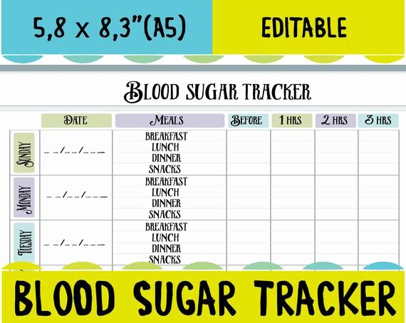 Blood Sugar Log Book Template Lovely Blood Sugar Tracker Diabetic Log Blood Sugar Log Blood