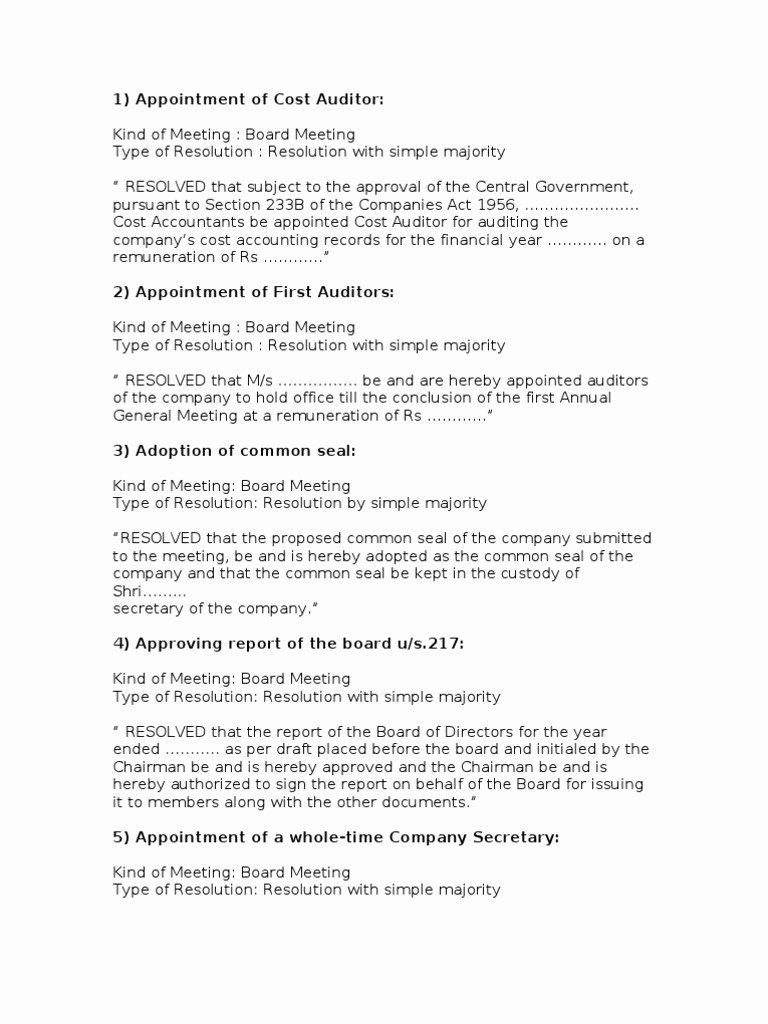 Board Resolution Template Non Profit Elegant Board Member Removal Letter Template Examples
