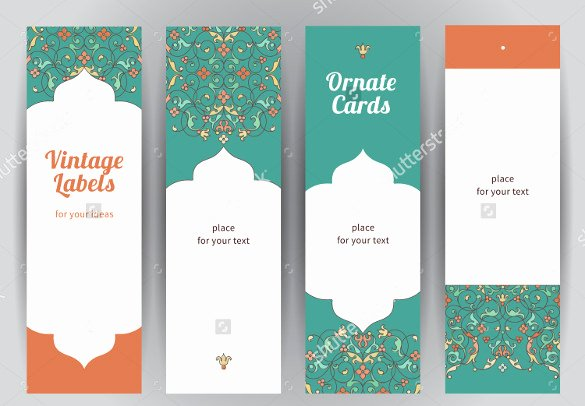 Bookmarks Templates Free Microsoft Word Elegant Blank Bookmark Template 135 Free Psd Ai Eps Word